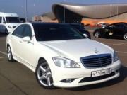 Mercedes-Benz W221 для аренды на свадьбу